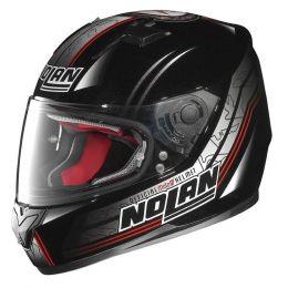 Moto helma Nolan N64 Moto GP Metal Black + servis u Vás doma provádíme kdekoliv v ČR