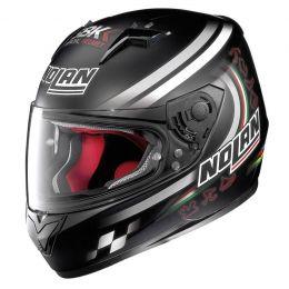 Moto helma Nolan N64 SBK 89 Flat Black + servis u Vás doma provádíme kdekoliv v ČR