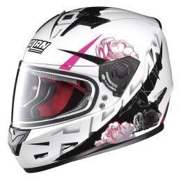Moto helma Nolan N64 Stylet Metal White + servis u Vás doma provádíme kdekoliv v ČR