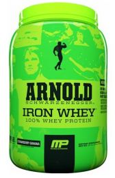 Náhled - MusclePharm Arnold Series Iron Whey 680g