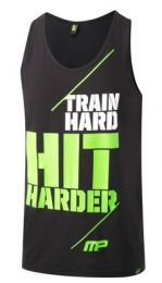 Musclepharm Graphic Vest Hit Harder Black