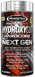 Náhled - MuscleTech Hydroxycut NEXT GEN 100kps + 3x Mission1 Clean Protein Bar