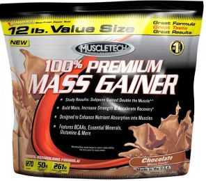 N�hled - MUSCLETECH PREMIUM MASS GAINER 5400g + SHATTER SX-7 30
