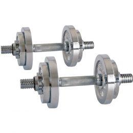 Nakládací jednoručky inSPORTline 2 x 3-10 kg