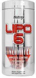 Náhled - Nutrex LIPO 6 UNLIMITED 120 kps