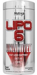 Náhled - Nutrex LIPO 6 UNLIMITED POWDER 150g