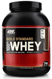 Optimum Nutrition 100% Whey Protein Gold 2270g + originální triko Optimum