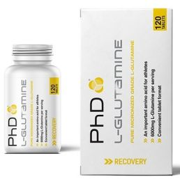 Náhled - PhD Nutrition L-GLUTAMINE 120 cps