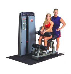 Posilovací stroj na břicho/záda - Body-Solid Pro-Dual DABB-SF Ab Crunch/Back extension + dovoz a montáž zdarma + servis u Vás doma provádíme kdekoliv v ČR