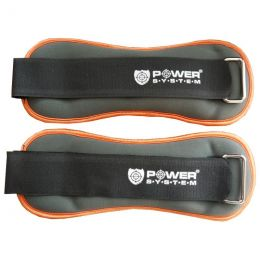 POWER SYSTEM Neoprenové zátěže na kotníky 2x 1 kg