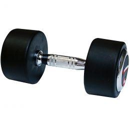 Profi pogumovaná jednoruční činka inSPORTline 40 kg