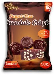 Purely Snacking Sugar Free Chocolate Crispies 50g