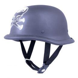 Retro otevřená moto helma Sodager Dead Head
