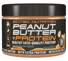 Scitec 100% PEANUT BUTTER + PROTEIN 500g smooth