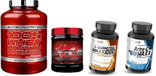 Scitec balíček pro nárůst svalů a síly