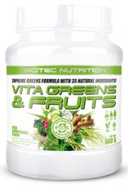 Náhled - Scitec VITA GREENS & FRUITS 600g