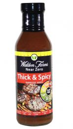 Walden Farms Barbecue Sauces Thick'n Spicy 340ml EXPIRACE 09/2018