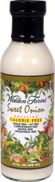 Walden Farms Salad Dressings Sweet onion 355ml EXPIRACE 12/2018