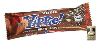 Náhled - Weider 36% Yippie! Protein bar