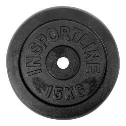 Závaží inSPORTline 15 kg ocelové