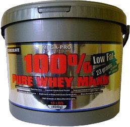 Výsledek obrázku pro Mega Pro - 100% Pure Whey Maxx 4540g