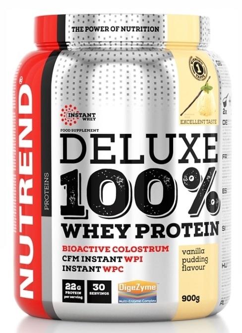 Výsledek obrázku pro Nutrend - Deluxe 100% Whey 2250g