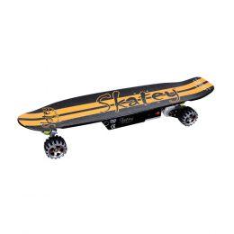 Elektrický longboard Skatey 400 černo-oranžový 238101d47b