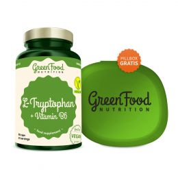 GreenFood Nutrition L-Tryptophan vegan caps 81c0c32eff