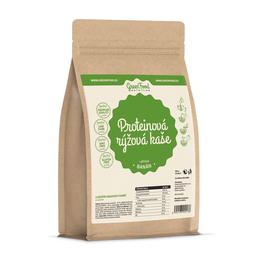 GreenFood Nutrition Proteinová rýžová kaše bezlepková LOW CARB ... 194ebcaf51