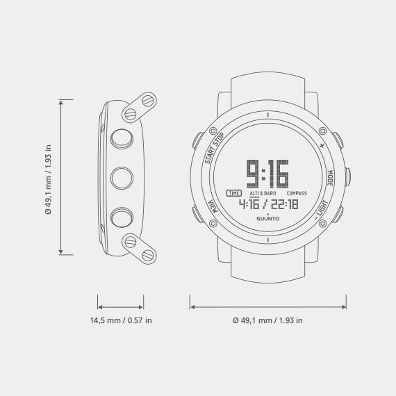 Outdoorové hodinky Suunto CORE ALU PURE White  f46de901bb