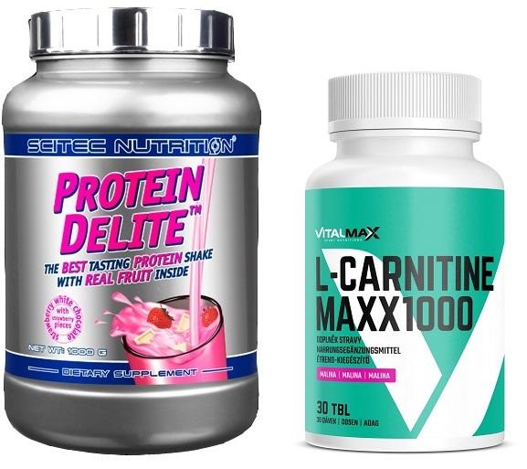 Scitec PROTEIN DELITE + L-Carnitine MAXX 1000  ff8c17b03a303