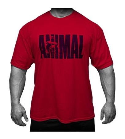 6cb84e0e9e28 Universal triko Iconic T-Shirt Red